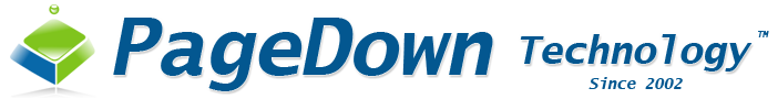 PageDown Technology, PDshop Logo